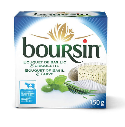 Boursin Basil and Chive -150g