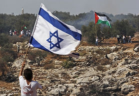 israel-palestinian-flagsAP08100306412-63
