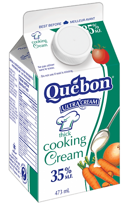 Quebon 35% Cooking Cream - 1L