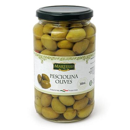 Martelli Pesciolina Olives - 500ml