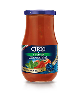 Cirio Basil Tomato Sauce - 446ml