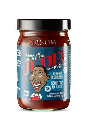 Jude's Blueberry Hickory BBQ Sauce 400ml