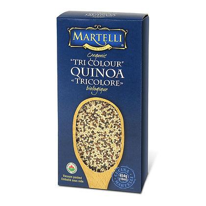Martelli Tri-Color Organic Quinoa - 454g
