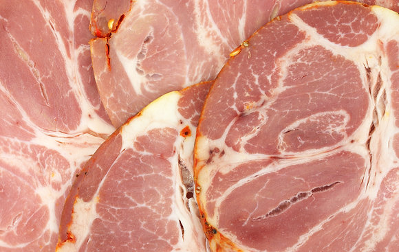 Sliced Italian Cooked Coppa 100g Portion