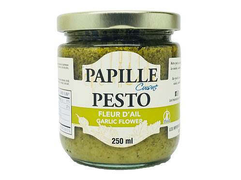 Papille Garlic Flower Pesto