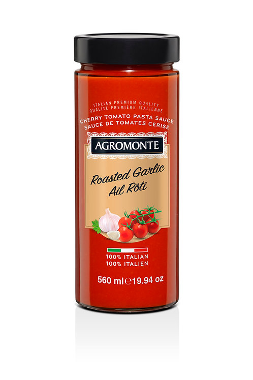 Agromonte Roasted Garlic Cherry Tomato Sauce