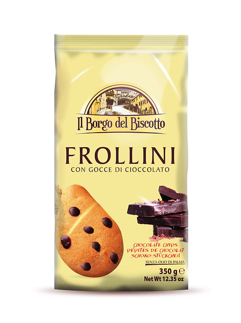Frollini with Chocolate Chips