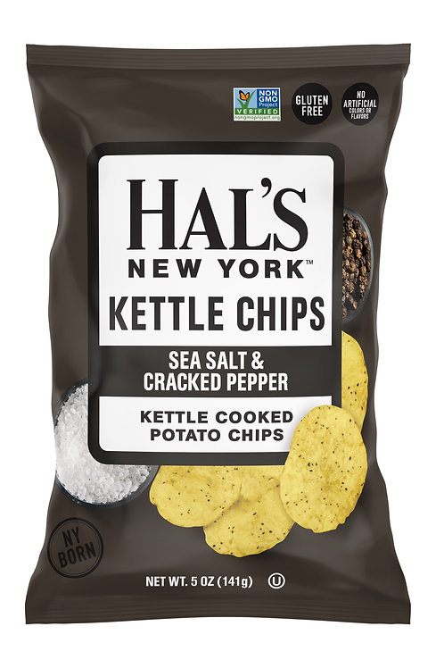 Sea Salt and Cracked Pepper Kettle Chips