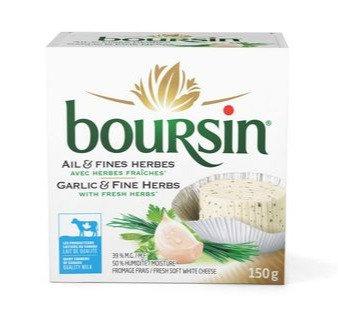 Boursin Garlic and Fine Herb -150g