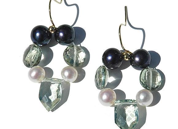 Regal Amethyst Earrings