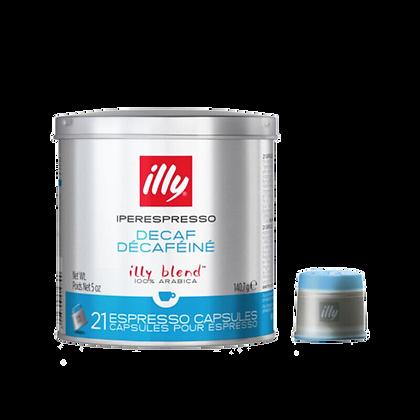 Illy Decaf Iper Capsules - 21 capsules