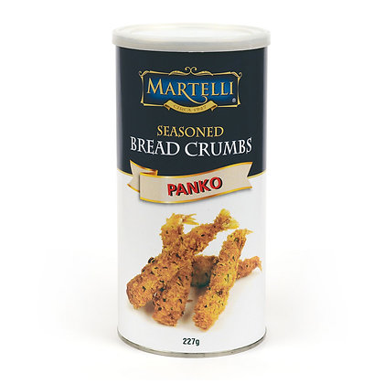 Martelli Plain Seasoned Breadcrumbs - 227g