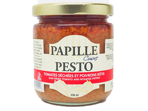 Papille Sun-Dried Tomato and Roasted Pepper Pesto