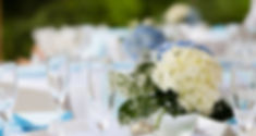 Flowers at Wilkes Cove Wedding Venue