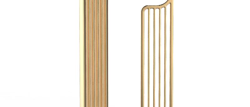 CityScape Gold Earrings