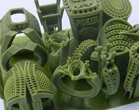 3D wax print
