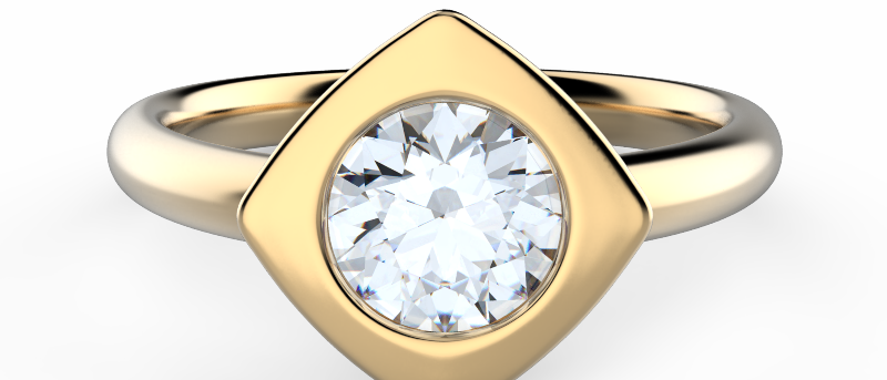 Glowing Modern Ring