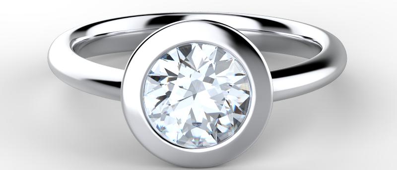 Exquisite Solitaire Ring