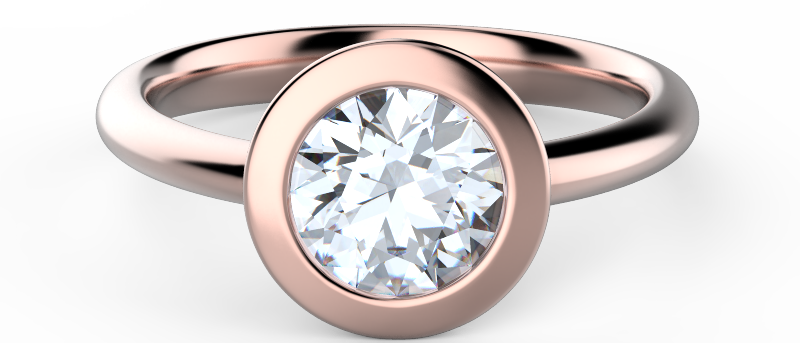 Alluring Solitaire Ring