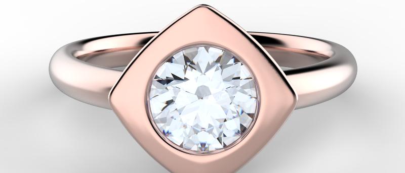 Alluring Modern Ring
