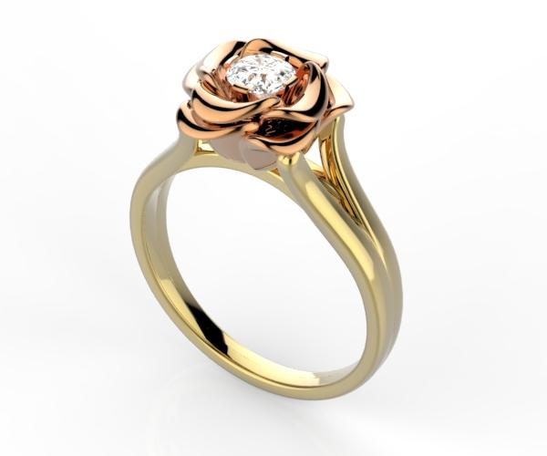 Rose ring.800