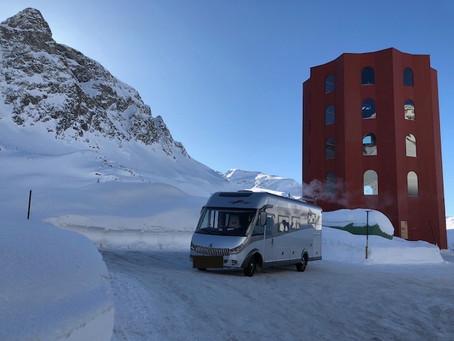 Wintercamping in der Schweiz