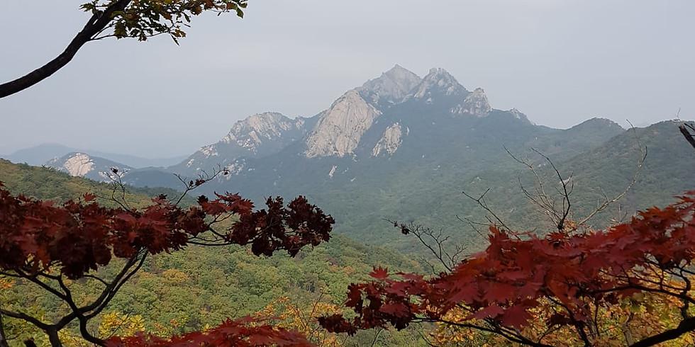 WALKIE TALKIE HIKE, Wed 4 Nov 2020 Bukhansan -Bogungmun & Daeseongmun Loop