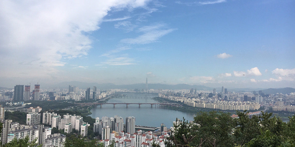 EVENT CANCELLED-WALKIE TALKIE-Mt Maebongsan and Mt Eungbongsan. Time: 10.00-12.30.