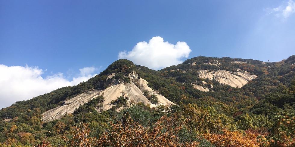 WALKIE TALKIE-Mt Buramsan, Seoul Trail, section 1, part 2. Time: 9.45-13.00 (Members free, non-Members 10,000 KRW)