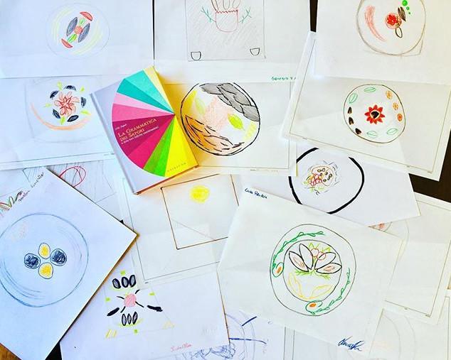 la gioia di insegnare l'arte e il #desig