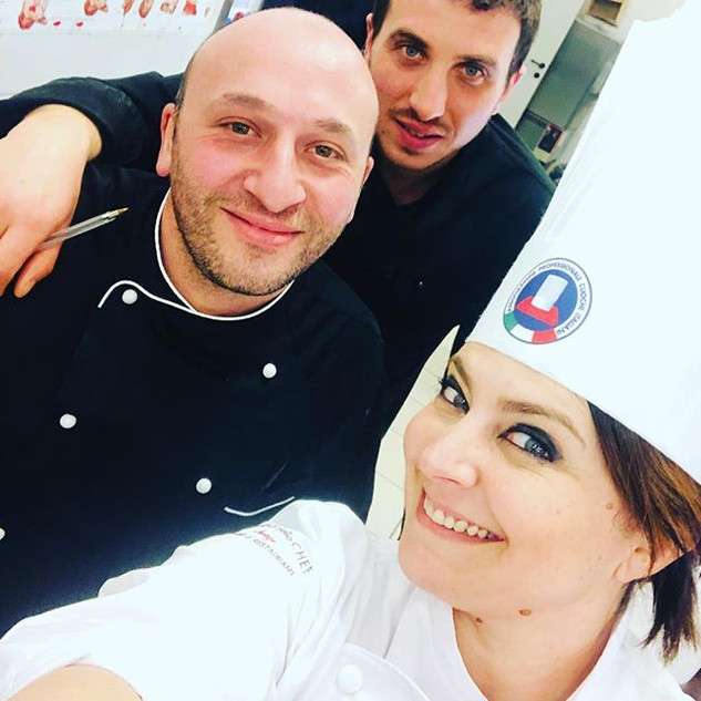 chef trainer & friends #openday #albergh
