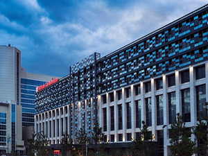 Hampton by Hilton hotel (12,000m2) Astana