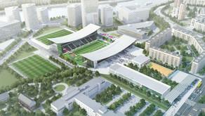 Оценка архитектурных проектов строительства стадиона Торпедо.