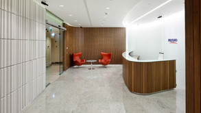 Корпоративный банк Mizuho (офис 2000 м2)