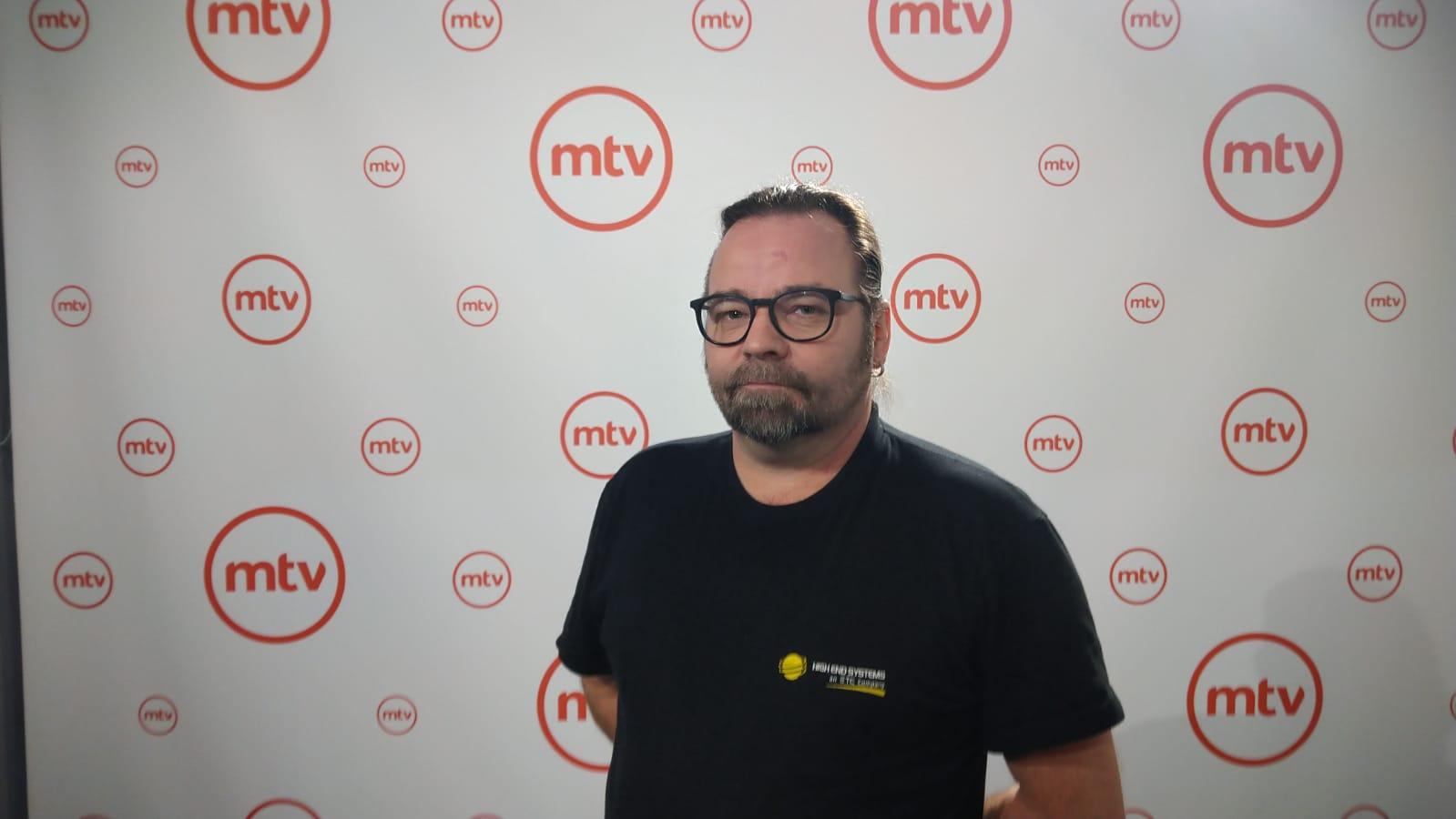 MTV kuvausseinä