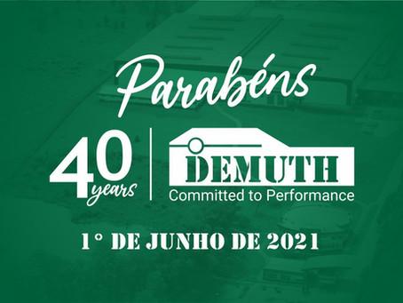 Parabéns Demuth!