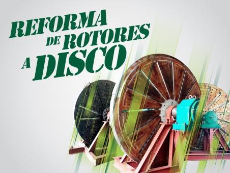Reforma de rotores a disco