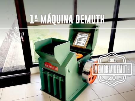 1ª Máquina Demuth