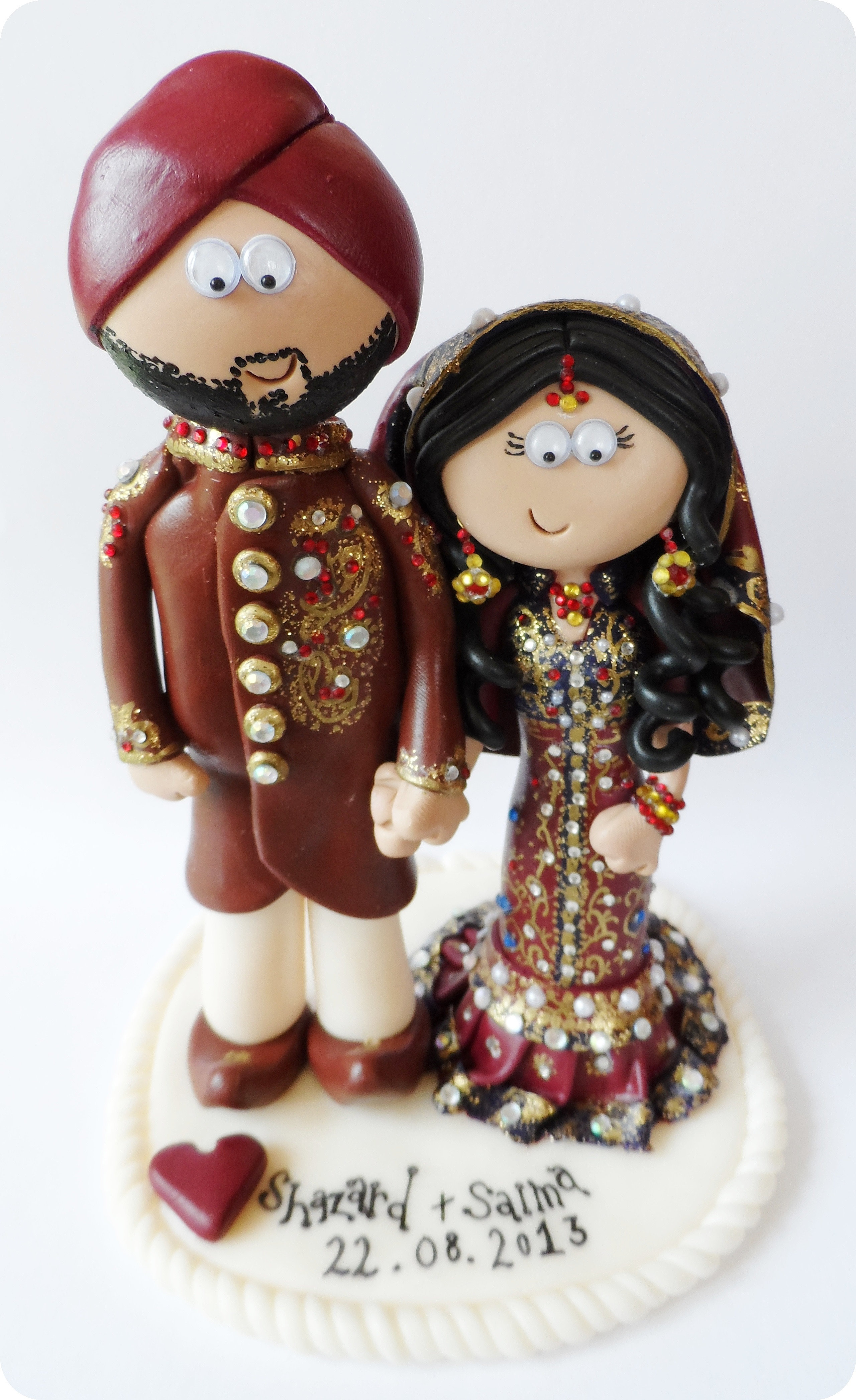 hindu wedding cake toppers personalised asian indian wedding cake toppers 15241