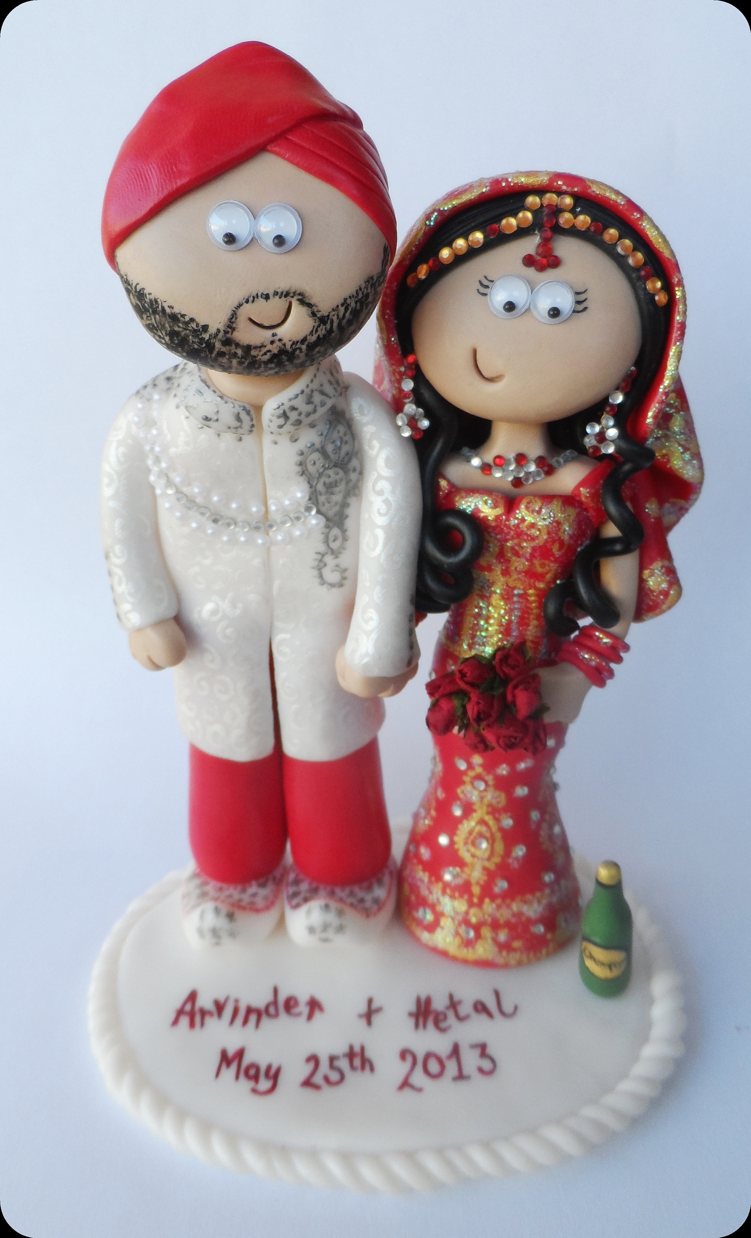 Personalised Cake Wedding Toppers