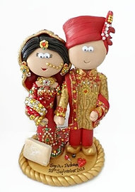 Asian Wedding Cake Toppers 28