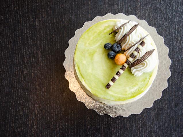 Matcha White Chocolate Mousse