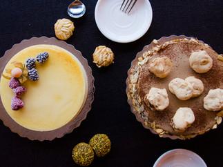 Cheesecake and Almond Mocha Combo