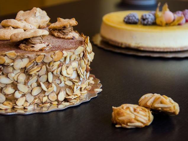 Almond Mocha Cake