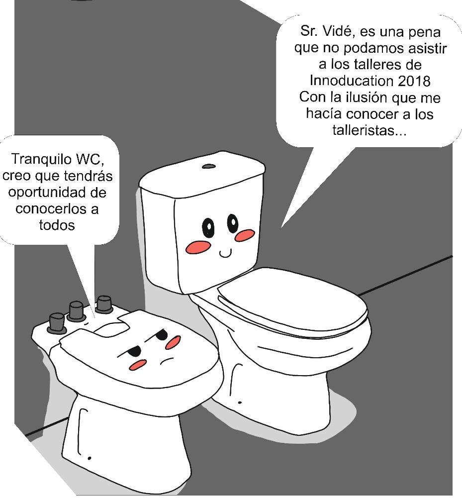 Cartel baños