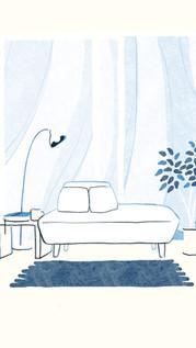 国産ソファブランドNOYES Sofa Stories 挿絵