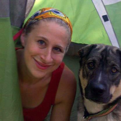 Hanna and Shark Camping