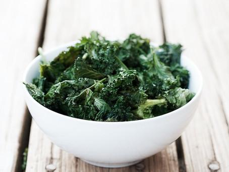 Kale & Hearty: Evermore Me Salt & Vinegar Kale Chips!