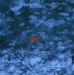 21 冬色の水辺/長野県根羽村/2008.1.27 13:40