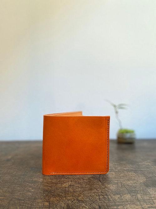 クラニック二つ折り財布 橙